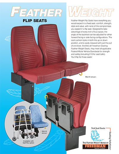 Feather Weight Flip Seats